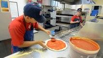 Faire 3 pizzas en 39 secondes
