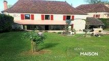 """Loubressac (Lot) - Belle maison en pierre de 165m² avec un grand jardin privatif très bien entretenu avec piscine et cuisine d'été dans l'un des """"Plus"""