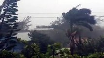 As a cold front enters Belize, a strong storm with hurricane-like winds hits San Pedro!