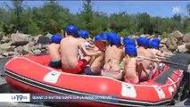 En Vendée, un parc d'attractions propose aux visiteurs de faire du rafting virtuel