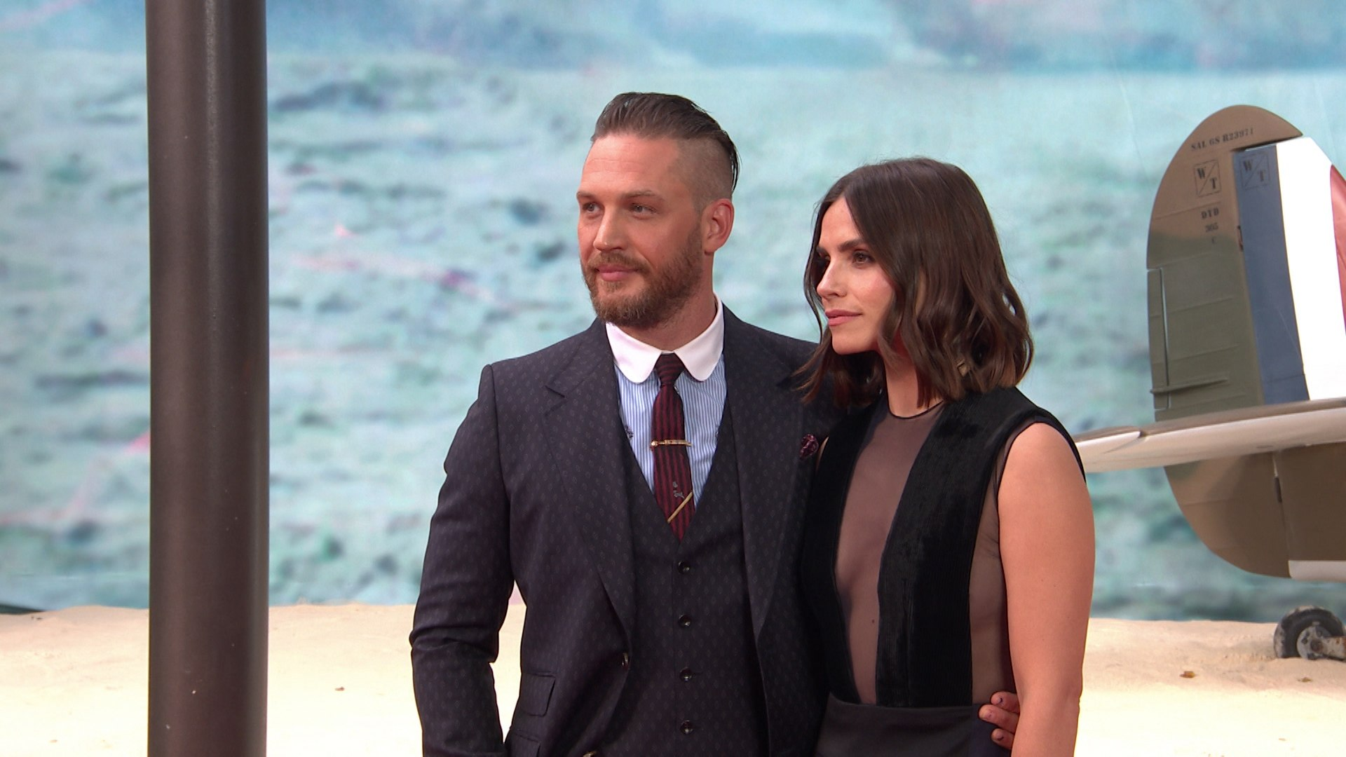 090497006 Tom Hardy and his wife reportedly expecting their second child