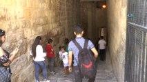 Tarihi Gaziantep Kalesi'ne Yoğun İlgi
