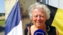 Ann Chevalier, la maire franco-belge de Couziers en Indre-et-Loire, ne sait pas qui soutenir pour la demi-finale.