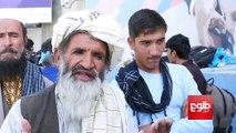 آغاز بستنشینی حرکت مردمی صلحخواهی در برابر سفارت روسیه در کابل.گزارش از نبیلا اشرفی