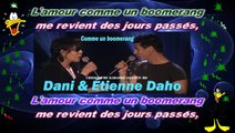 Étienne Daho & Dani - Comme un boomerang KARAOKE / INSTRUMENTAL