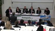"""""""Le transport durable, les politiques publiques et l'aménagement du territoire"""" (table ronde #1, modérateur : Jean-Michel Lattes, @colloque IFR """"Transports et développement durable""""_10)"""