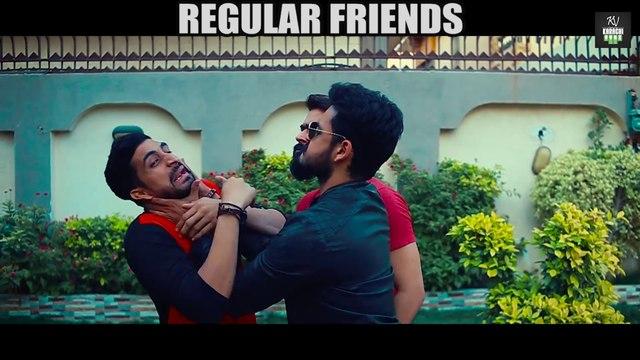 REGULAR FRIENDS vs TERHAY FRIENDS (Best Friends) - Karachi Vynz