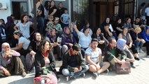 Soma'da işçi ailelerinden protesto