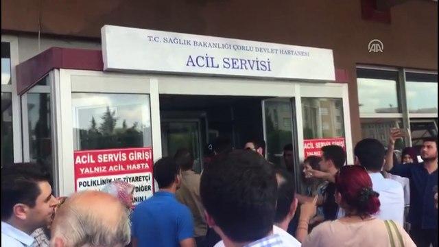 Tren kazası - HDP milletvekili Barış Atay'a vatandaşlar tepki gösterdi - TEKİRDAĞ