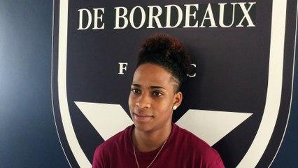 Mylaine Tarrieu signe définitivement au FC Girondins de Bordeaux !