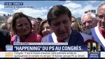 """Congrès à Versailles: """"Les Français ne son pas protégés. Il y a eu la libéralisation mais il n'y a pas d'équilibre"""", estime Patrick Kanner, patron des socialistes au Sénat"""