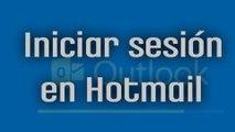 Iniciar sesión en Hotmail