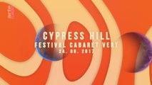 """Cypress Hill Live @ Festival """"Cabaret Vert"""", Site Bayard, Charleville-Mézières, France, 08-24-2017"""