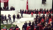 Erdoğan'ın yemin töreni sonrası alkış