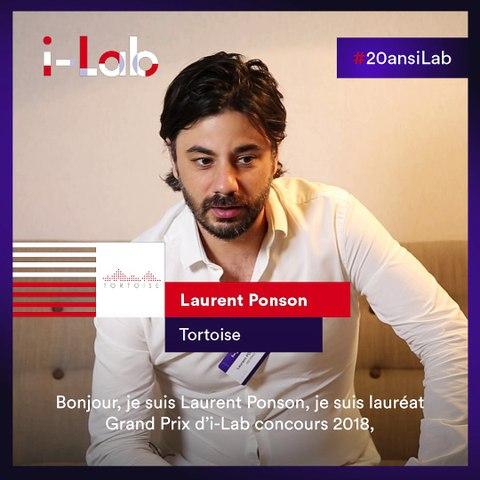 [Les lauréats en boite] Laurent Ponson, fondateur de Tortoise