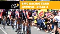 BMC Racing Team arrival - Étape 3 / Stage 3 - Tour de France 2018