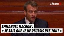 Macron devant le Congrès à Versailles : « Je sais que je ne réussis pas tout »
