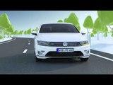 Volkswagen Passat GTE and Passat GTE Variant - Animation | AutoMotoTV