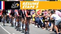 Résumé - Étape 3 - Tour de France 2018