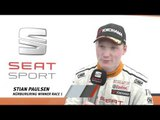 Alex Morgan a first time winner at Nürburgring in the SEAT Leon Eurocup   AutoMotoTV