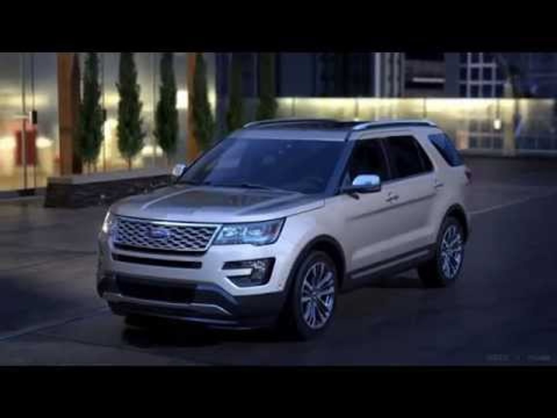2016 Ford Explorer Platinum Ebony Black Interior Automototv Video Dailymotion
