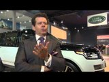 Jaguar Land Rover at the Delhi Motor Show 2016 - Interview Gerry McGovern | AutoMotoTV