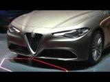 Alfa Romeo Giulia at Geneva Motor Show 2016   AutoMotoTV