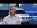 Mercedes-Benz Reveal Vision Van - Volker Mornhinweg,Head of Mercedes-Benz Vans | AutoMotoTV