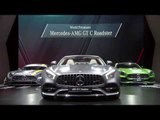 World premiere Mercedes-AMG GT C Roadster Reveal at 2016 Paris Motor Show | AutoMotoTV