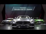 World premiere Mercedes-AMG GT C Roadster at 2016 Paris Motor Show | AutoMotoTV