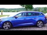The New Renault Megane Estate GT Exterior Design in Blue   AutoMotoTV