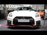 2017 Nissan GT-R Nismo at Paris Motor Show 2016 | AutoMotoTV