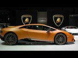New Lamborghini Huracán Performante - Exterior Design at the Geneva Motor Show 2017 | AutoMotoTV