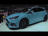 Ford Focus RS at 2017 Geneva Motor Show | AutoMotoTV