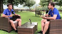""""""" In der ersten Mannschaft zu sein ist ein Traum!"""" Im zweiten FCB-Talk aus dem Trainingslager redet Raoul Petretta über seine Entwicklung beim FCB, seine Freun"""