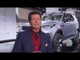 Land Rover at IAA 2017 - Interview Gerry McGovern, Chief Design Officer