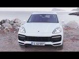Porsche Cayenne Turbo Carrara White Metallic Exterior Design