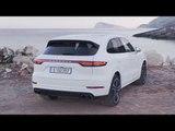 Porsche Cayenne Turbo Carrara White Metallic Design