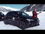 FCA Snow Training 2018 - Fun on ice and snow with Alfa Romeo, Jeep and Fiat