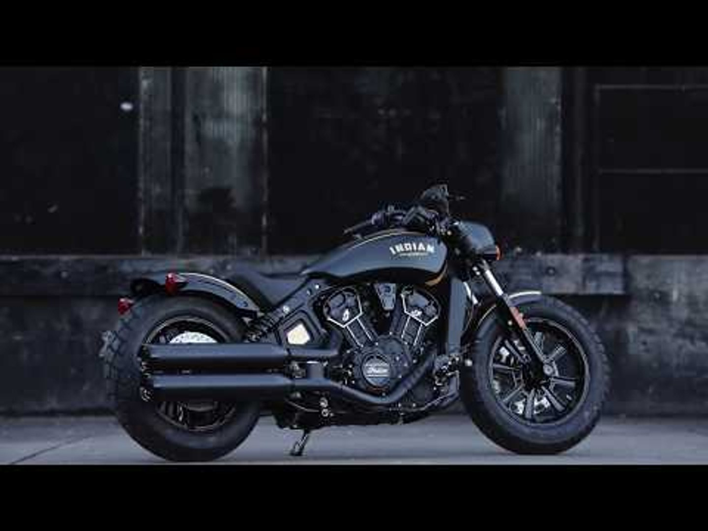 Indian Motorcycle unveils 177 Gold & Black Jack Daniel's Limited edition Scout Bobber model