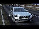 Audi A6 48V mild hybrid system Animation