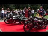 The Moto Major Best of show of the Concorso d Eleganza dedicated to historic motorcycles
