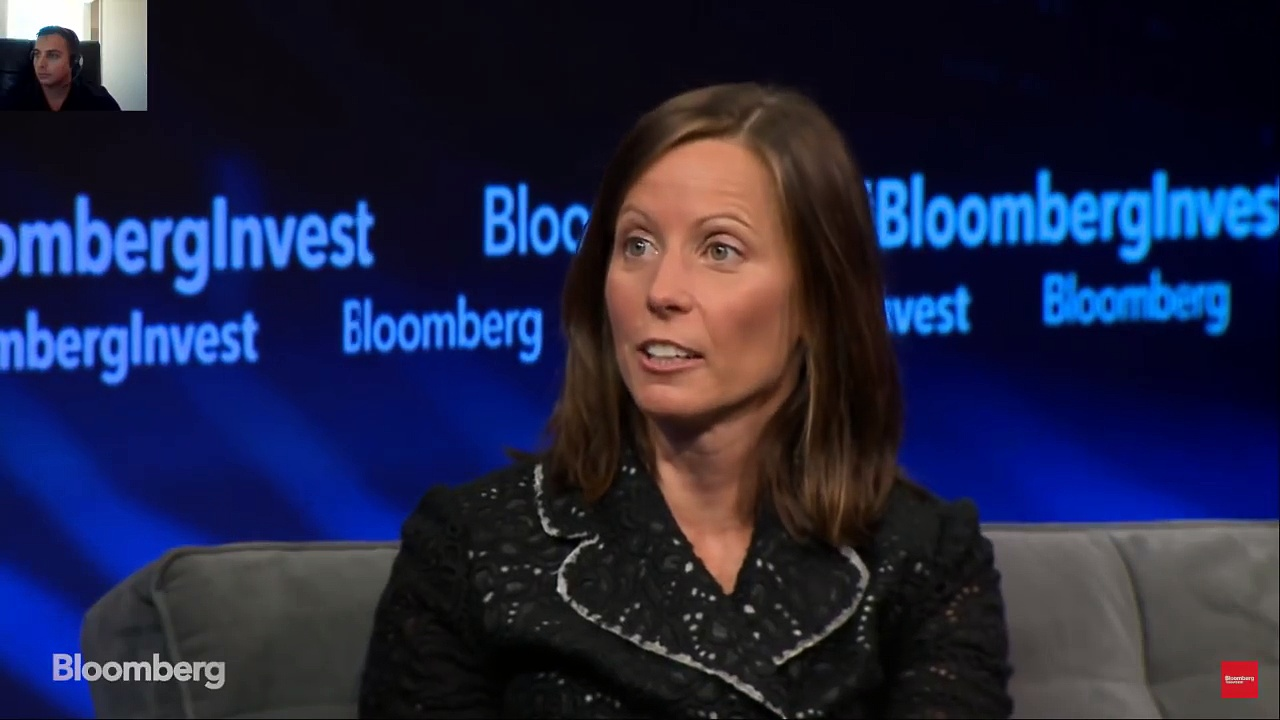 NASdaq CEO on Bitcoin/ Blockchain / Cryptocurrency Technology | Bloomberg News