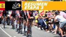 Resumen - Etapa 3 - Tour de France 2018