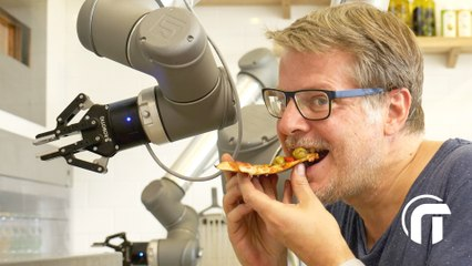 Une pizza faite par un robot ? Dégustation Pazzi