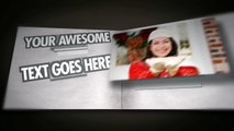 Free After Effects template Pop Out Book