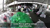 Costa Rica collects 25 tonnes of bottles for recycling record