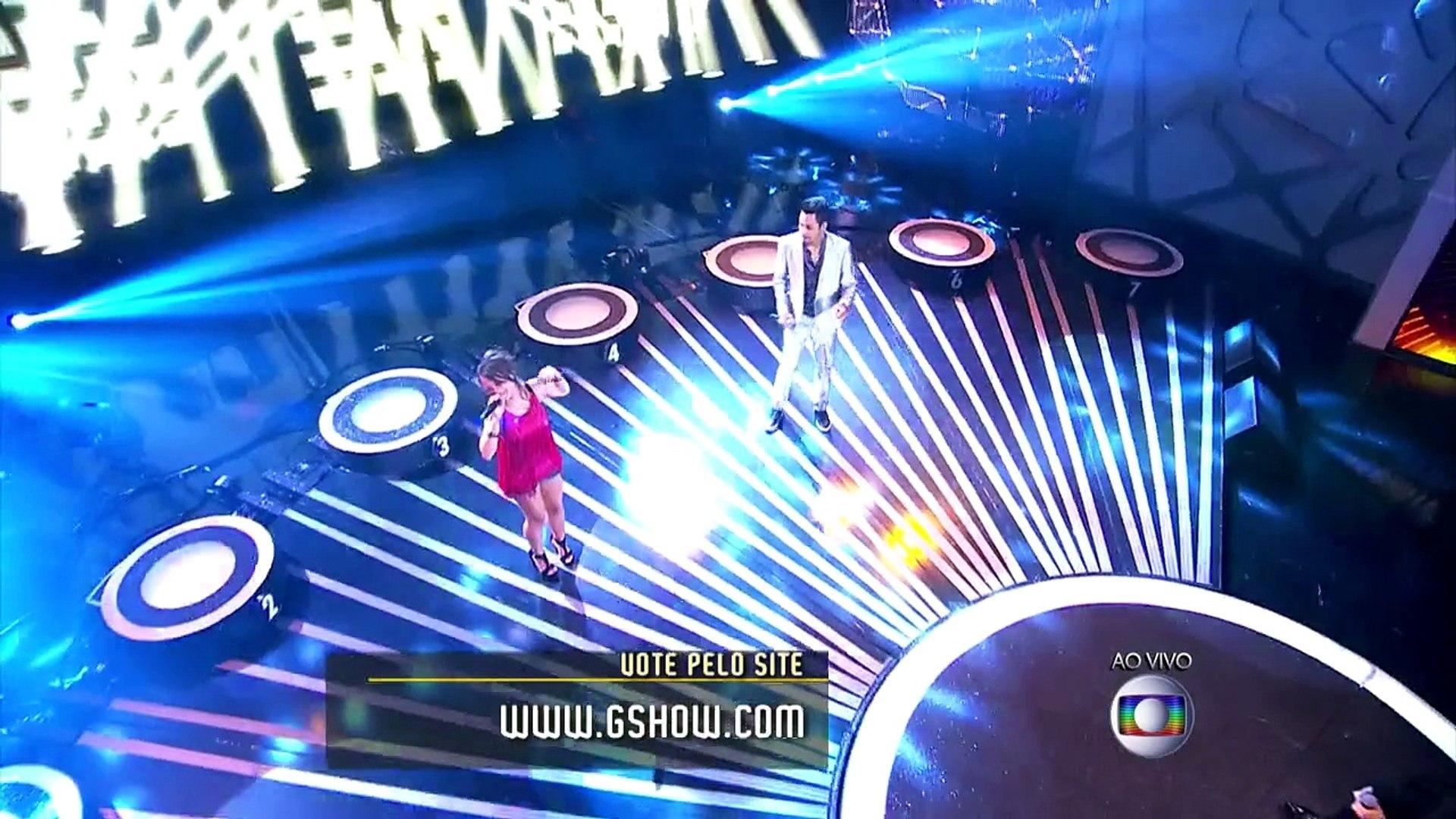 OS ILUMINADOS - Final da estreia - A primeira campeã é Bárbara Dias - Domingão do Faustão 22-02-2015