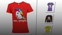 Unicorn Ew People shirt and flowy tank