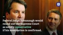 Trump Nominates Brett Kavanaugh For Supreme Court